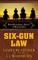 Cover image for Six-gun law