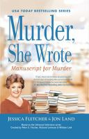Cover image for Manuscript for murder