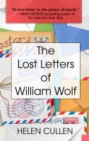 Cover image for The lost letters of William Woolf