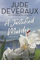 Cover image for A justified murder
