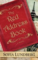 Cover image for The red address book : a novel