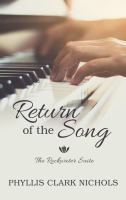 Cover image for Return of the song