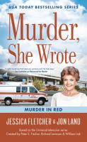 Cover image for Murder in red