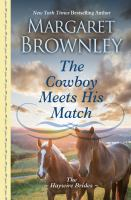 Cover image for The cowboy meets his match
