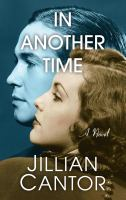 Cover image for In another time : a novel