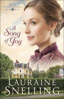 Cover image for A song of joy