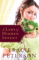 Cover image for A lady of hidden intent