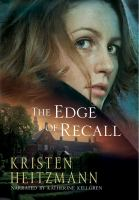 Cover image for The edge of recall