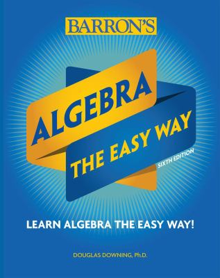 Cover image for Algebra the easy way