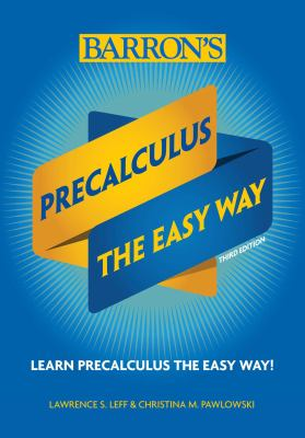 Cover image for Precalculus the easy way