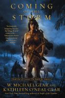 Cover image for Coming of the storm