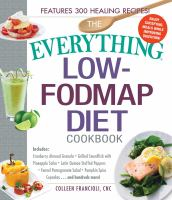 Cover image for The everything Low-FODMAP diet cookbook