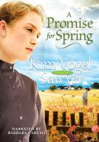 Cover image for A promise for spring : a novel
