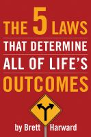 Cover image for The 5 laws that determine all of life's outcomes