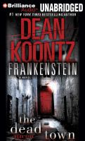 Cover image for Frankenstein, the dead town