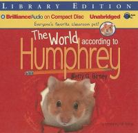 Cover image for The world according to Humphrey
