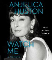 Cover image for Watch me : a memoir