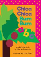 Cover image for Chica chica bum bum A B C