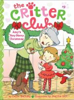 Cover image for Amy's very merry Christmas