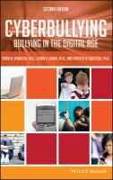 Cover image for Cyberbullying : bullying in the digital age
