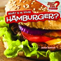 Cover image for What's in your hamburger?