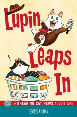 Cover image for Lupin leaps in