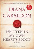Cover image for Written in my own heart's blood : a novel