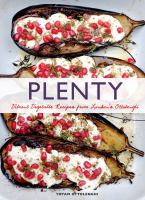 Cover image for Plenty : vibrant vegetable recipes from London's Ottolenghi