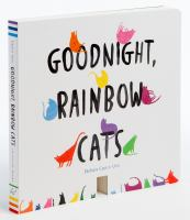 Cover image for Goodnight, rainbow cats