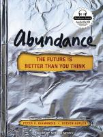 Cover image for Abundance : the future is better than you think