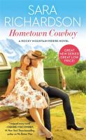 Cover image for Hometown cowboy : a Rocky Mountain riders novel