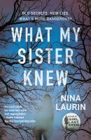 Cover image for What my sister knew
