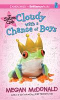 Cover image for Cloudy with a chance of boys