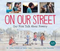 Cover image for On our street : our first talk about poverty