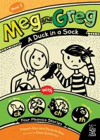 Cover image for A duck in a sock : with four phonics stories