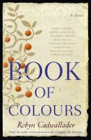 Cover image for Book of colours