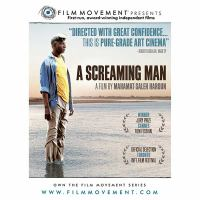 Cover image for A screaming man Un homme qui crie