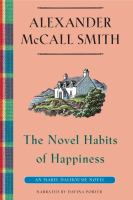 Cover image for The novel habits of happiness