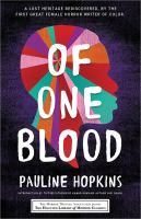 Cover image for Of one blood : or, The hidden self