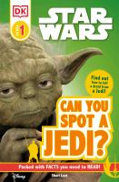 Cover image for Can you spot a Jedi?