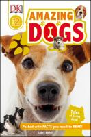 Cover image for Amazing dogs