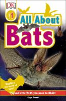 Cover image for All about bats
