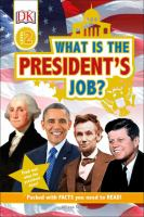 Cover image for What is the president's job?