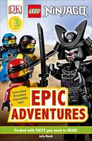 Cover image for LEGO Ninjago epic adventures