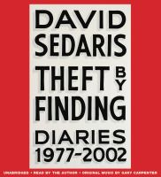 Cover image for Theft by finding : diaries (1977-2002)