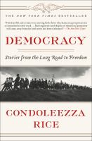 Cover image for Democracy : stories from the long road to freedom