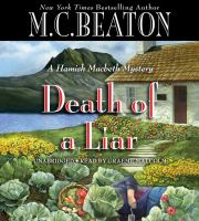 Cover image for Death of a liar : a Hamish Macbeth mystery