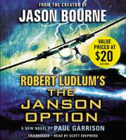 Cover image for Robert Ludlum's The Janson option