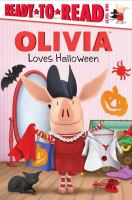 Cover image for Olivia loves Halloween