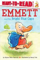 Cover image for Emmett and the bright blue cape